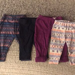 Pants - legging bundle. 2 Carters 1 koala 1 missing brand